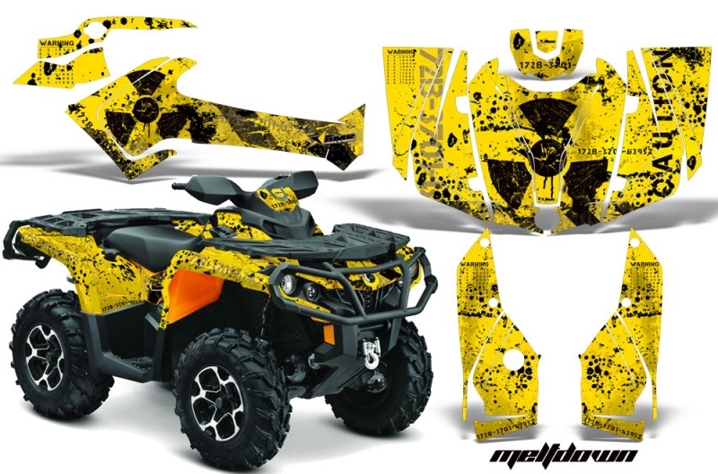 Can-Am-Outlander-1000-2012-AMR-Graphics-Kit-MELTDOWN-RY