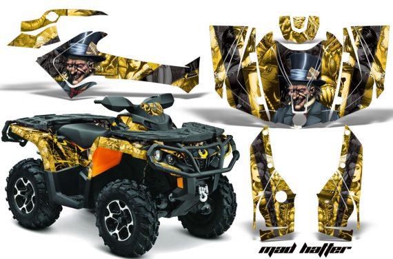Can Am Outlander 1000 2012 AMR Graphics Kit MH YK1 570x376 - Can-Am Outlander 500-650-800-1000 XMR-MAX XT XT-P DPS SST G2 2013-2021 Graphics