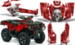 Can Am Outlander 1000 2012 AMR Graphics Kit R BC1 150x90 - Can-Am Outlander 500-650-800-1000 XMR-MAX XT XT-P DPS SST G2 2013-2021 Graphics