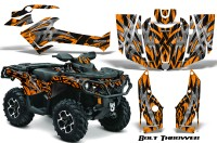 Can-Am-Outlander-2013-2014-XMR-MAX-G2-XT-DPS-CreatorX-Graphics-Kit-Bolt-Thrower-Orange