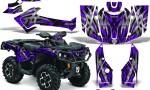 Can Am Outlander 2013 2014 XMR MAX G2 XT DPS CreatorX Graphics Kit Bolt Thrower Purple1 150x90 - Can-Am Outlander 500-650-800-1000 XMR-MAX XT XT-P DPS SST G2 2013-2021 Graphics