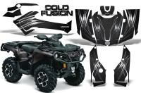 Can-Am-Outlander-2013-2014-XMR-MAX-G2-XT-DPS-CreatorX-Graphics-Kit-Cold-Fusion-Black