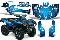Can-Am-Outlander-2013-2014-XMR-MAX-G2-XT-DPS-CreatorX-Graphics-Kit-Cold-Fusion-BlueIce