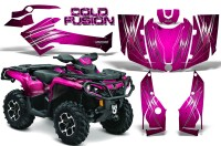 Can-Am-Outlander-2013-2014-XMR-MAX-G2-XT-DPS-CreatorX-Graphics-Kit-Cold-Fusion-Pink