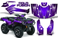 Can-Am-Outlander-2013-2014-XMR-MAX-G2-XT-DPS-CreatorX-Graphics-Kit-Cold-Fusion-Purple