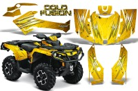 Can-Am-Outlander-2013-2014-XMR-MAX-G2-XT-DPS-CreatorX-Graphics-Kit-Cold-Fusion-Yellow-BB