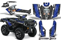 Can-Am-Outlander-2013-2014-XMR-MAX-G2-XT-DPS-CreatorX-Graphics-Kit-Danger-Zone-Blue