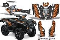 Can-Am-Outlander-2013-2014-XMR-MAX-G2-XT-DPS-CreatorX-Graphics-Kit-Danger-Zone-Orange