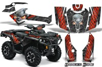 Can-Am-Outlander-2013-2014-XMR-MAX-G2-XT-DPS-CreatorX-Graphics-Kit-Danger-Zone-Red