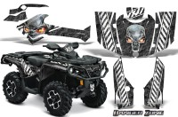 Can-Am-Outlander-2013-2014-XMR-MAX-G2-XT-DPS-CreatorX-Graphics-Kit-Danger-Zone-White