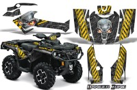 Can-Am-Outlander-2013-2014-XMR-MAX-G2-XT-DPS-CreatorX-Graphics-Kit-Danger-Zone-Yellow