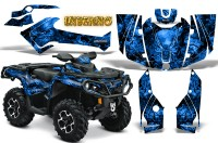 Can-Am-Outlander-2013-2014-XMR-MAX-G2-XT-DPS-CreatorX-Graphics-Kit-Inferno-Blue
