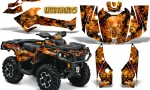 Can Am Outlander 2013 2014 XMR MAX G2 XT DPS CreatorX Graphics Kit Inferno Orange1 150x90 - Can-Am Outlander 500-650-800-1000 XMR-MAX XT XT-P DPS SST G2 2013-2021 Graphics
