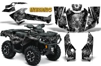 Can-Am-Outlander-2013-2014-XMR-MAX-G2-XT-DPS-CreatorX-Graphics-Kit-Inferno-Silver