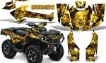 Can Am Outlander 2013 2014 XMR MAX G2 XT DPS CreatorX Graphics Kit Inferno Yellow1 150x90 - Can-Am Outlander 500-650-800-1000 XMR-MAX XT XT-P DPS SST G2 2013-2021 Graphics