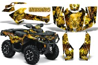 Can-Am-Outlander-2013-2014-XMR-MAX-G2-XT-DPS-CreatorX-Graphics-Kit-Inferno-Yellow