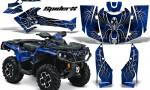 Can Am Outlander 2013 2014 XMR MAX G2 XT DPS CreatorX Graphics Kit SpiderX Blue1 150x90 - Can-Am Outlander 500-650-800-1000 XMR-MAX XT XT-P DPS SST G2 2013-2021 Graphics