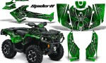 Can Am Outlander 2013 2014 XMR MAX G2 XT DPS CreatorX Graphics Kit SpiderX Green1 150x90 - Can-Am Outlander 500-650-800-1000 XMR-MAX XT XT-P DPS SST G2 2013-2021 Graphics