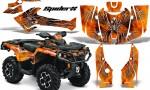 Can Am Outlander 2013 2014 XMR MAX G2 XT DPS CreatorX Graphics Kit SpiderX Orange1 150x90 - Can-Am Outlander 500-650-800-1000 XMR-MAX XT XT-P DPS SST G2 2013-2021 Graphics