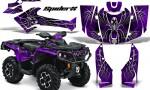 Can Am Outlander 2013 2014 XMR MAX G2 XT DPS CreatorX Graphics Kit SpiderX Purple1 150x90 - Can-Am Outlander 500-650-800-1000 XMR-MAX XT XT-P DPS SST G2 2013-2021 Graphics