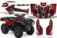 Can-Am-Outlander-2013-2014-XMR-MAX-G2-XT-DPS-CreatorX-Graphics-Kit-SpiderX-Red-BB