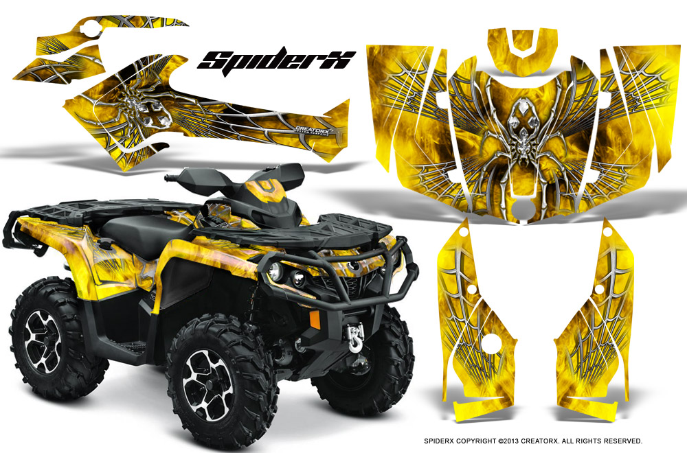 Can Am Outlander Wraps New Car Update 2020