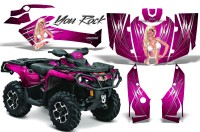 Can-Am-Outlander-2013-2014-XMR-MAX-G2-XT-DPS-CreatorX-Graphics-Kit-You-Rock-Pink