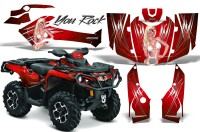 Can-Am-Outlander-2013-2014-XMR-MAX-G2-XT-DPS-CreatorX-Graphics-Kit-You-Rock-Red