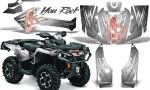 Can Am Outlander 2013 2014 XMR MAX G2 XT DPS CreatorX Graphics Kit You Rock White1 150x90 - Can-Am Outlander 500-650-800-1000 XMR-MAX XT XT-P DPS SST G2 2013-2021 Graphics