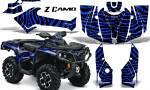 Can Am Outlander 2013 2014 XMR MAX G2 XT DPS CreatorX Graphics Kit ZCamo Blue1 150x90 - Can-Am Outlander 500-650-800-1000 XMR-MAX XT XT-P DPS SST G2 2013-2021 Graphics