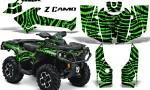 Can Am Outlander 2013 2014 XMR MAX G2 XT DPS CreatorX Graphics Kit ZCamo Green1 150x90 - Can-Am Outlander 500-650-800-1000 XMR-MAX XT XT-P DPS SST G2 2013-2021 Graphics