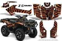 Can-Am-Outlander-2013-2014-XMR-MAX-G2-XT-DPS-CreatorX-Graphics-Kit-ZCamo-Orange
