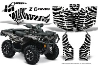 Can-Am-Outlander-2013-2014-XMR-MAX-G2-XT-DPS-CreatorX-Graphics-Kit-ZCamo-White