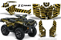 Can-Am-Outlander-2013-2014-XMR-MAX-G2-XT-DPS-CreatorX-Graphics-Kit-ZCamo-Yellow-BB