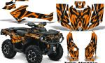 Can Am Outlander 2013 2014 XMR MAX G2 XT DPS Graphics Kit Tribal Madness Orange 150x90 - Can-Am Outlander 500-650-800-1000 XMR-MAX XT XT-P DPS SST G2 2013-2021 Graphics