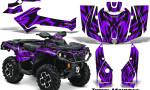 Can Am Outlander 2013 2014 XMR MAX G2 XT DPS Graphics Kit Tribal Madness Purple 150x90 - Can-Am Outlander 500-650-800-1000 XMR-MAX XT XT-P DPS SST G2 2013-2021 Graphics