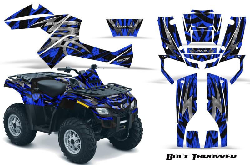 Can-Am-Outlander-800-CreatorX-Graphics-Kit-Bolt-Thrower-Blue-BB