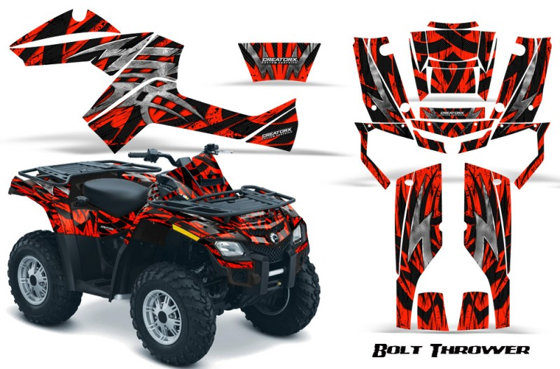 Can-Am-Outlander-800-CreatorX-Graphics-Kit-Bolt-Thrower-Red-BB