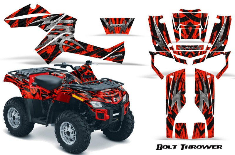 Can-Am-Outlander-800-CreatorX-Graphics-Kit-Bolt-Thrower-Red-RB