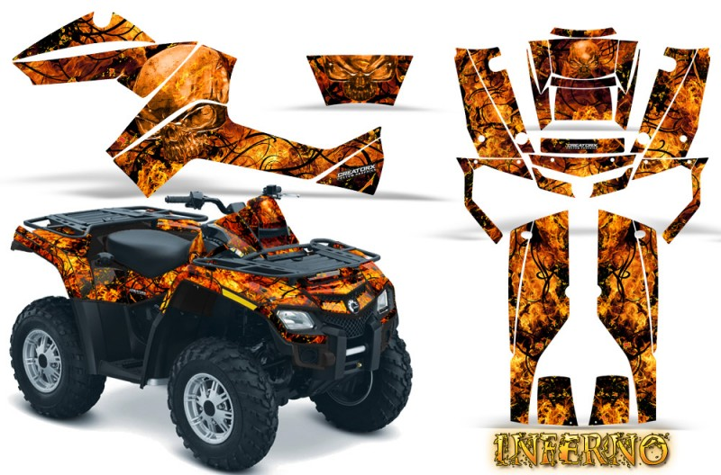 Can-Am-Outlander-800-CreatorX-Graphics-Kit-Inferno-Orange