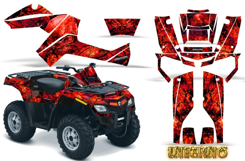 Can-Am-Outlander-800-CreatorX-Graphics-Kit-Inferno-Red