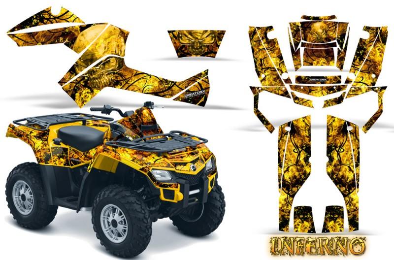 Can-Am-Outlander-800-CreatorX-Graphics-Kit-Inferno-Yellow