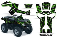 Can-Am-Outlander-800-CreatorX-Graphics-Kit-TribalX-Green-Black