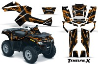 Can-Am-Outlander-800-CreatorX-Graphics-Kit-TribalX-Orange-Black