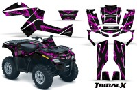 Can-Am-Outlander-800-CreatorX-Graphics-Kit-TribalX-Pink-Black