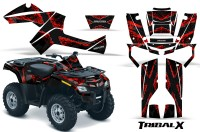 Can-Am-Outlander-800-CreatorX-Graphics-Kit-TribalX-Red-Black-BB