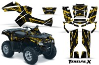Can-Am-Outlander-800-CreatorX-Graphics-Kit-TribalX-Yellow-Black-BB