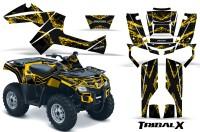 Can-Am-Outlander-800-CreatorX-Graphics-Kit-TribalX-Yellow-Black-YB