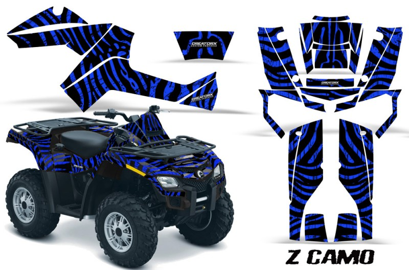Can-Am-Outlander-800-CreatorX-Graphics-Kit-ZCamo-Blue