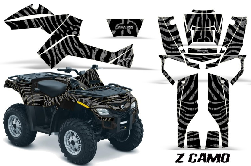 Can-Am-Outlander-800-CreatorX-Graphics-Kit-ZCamo-Silver